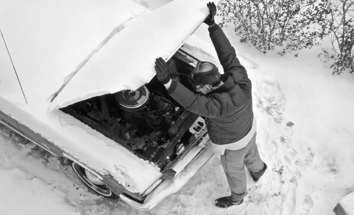 Весёлые старты. Заводим двигатель зимой