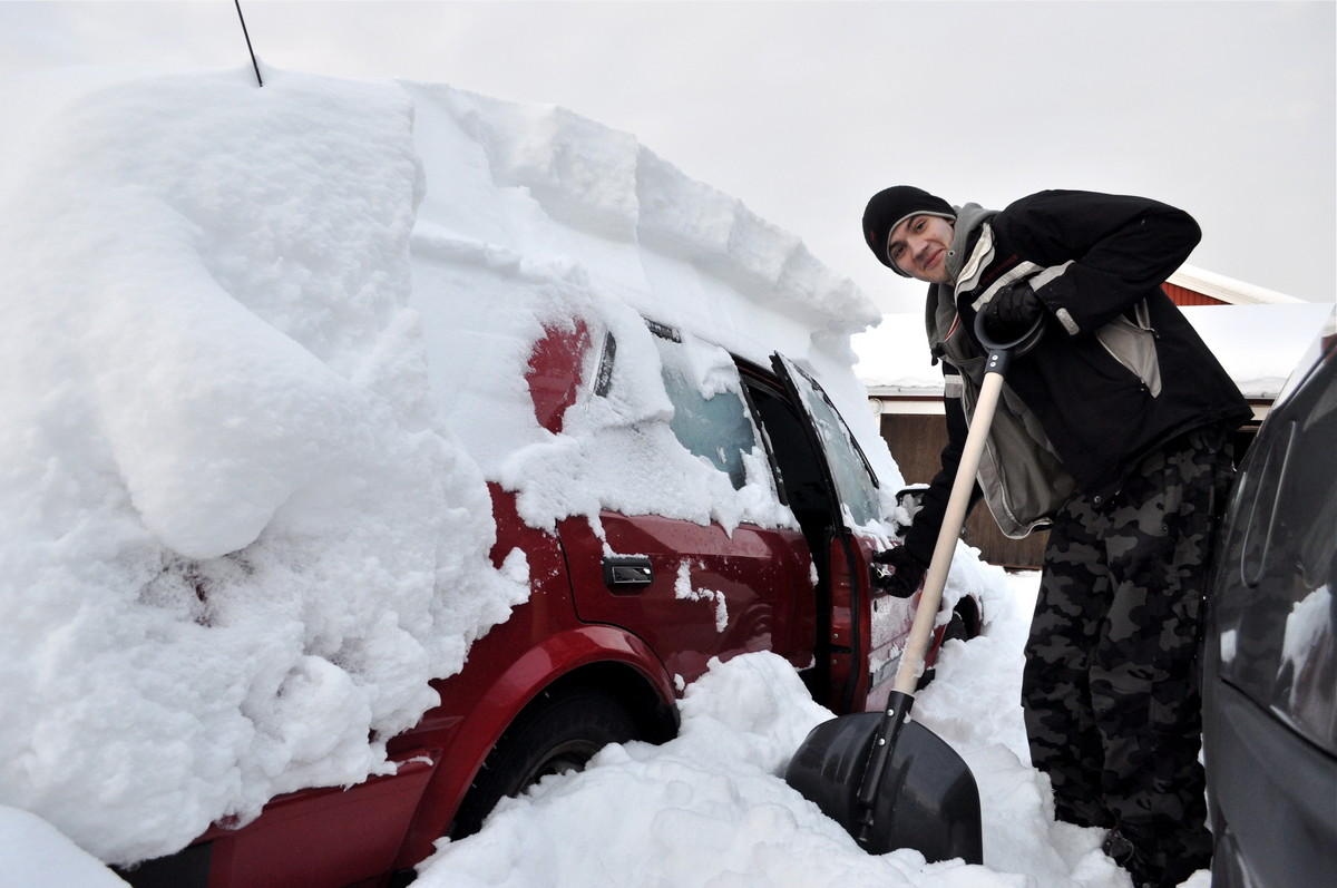Отогрев авто. Как оживить замерзшую машину?