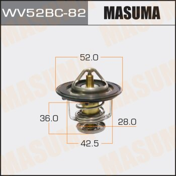 Термостат MASUMA WV52BC-82