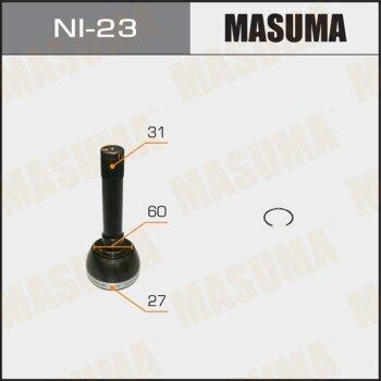 ШРУС MASUMA 27x60x31 NI-23