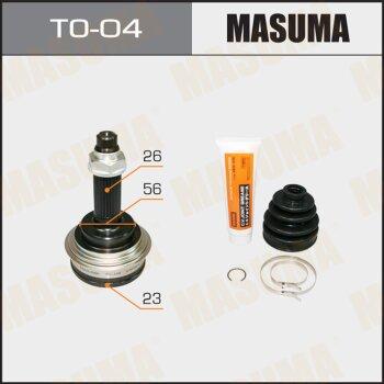 ШРУС MASUMA 23x56x26 TO-04