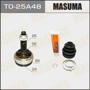 ШРУС MASUMA 24x56x26x48 TO-25A48