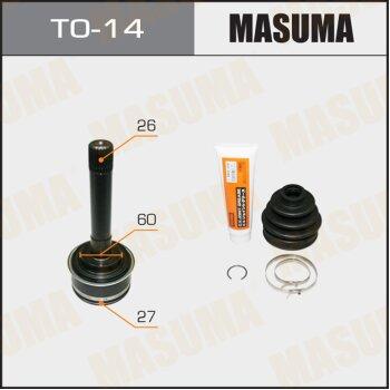 ШРУС MASUMA 27x60x26 TO-14