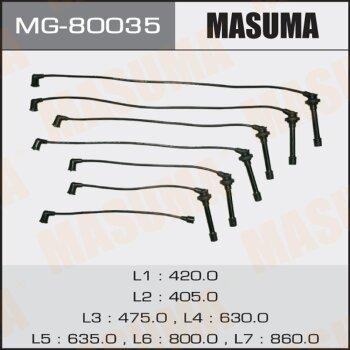 """Бронепровода """"""""Masuma"""""""",  1G-FE,GX81 // RC-TE28"""