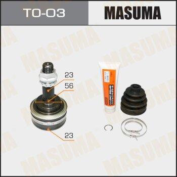 ШРУС MASUMA 23x56x23 TO-03