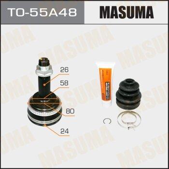 ШРУС MASUMA 24x58x26x48 TO-55A48