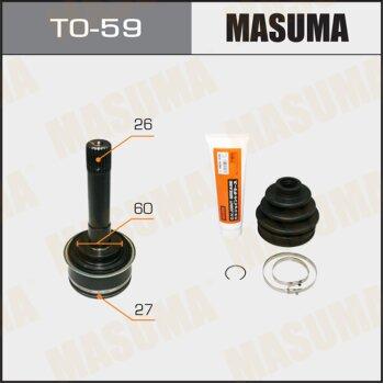 ШРУС MASUMA 27x60x26 TO-59