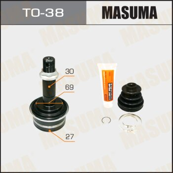ШРУС MASUMA 27x69x30 TO-38
