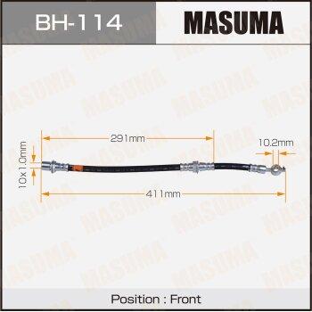 "Шланг тормозной ""Masuma"" T-  /front/  HiAce LH85,95, Dyna"