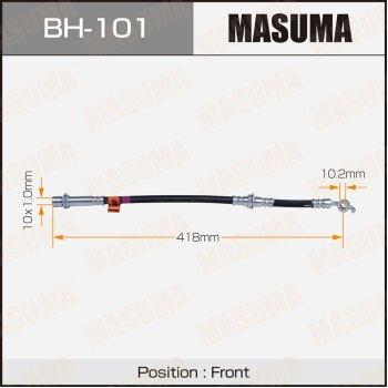 Шланг тормозной MASUMA BH-101