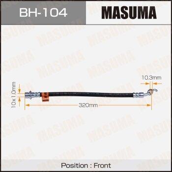 Шланг тормозной MASUMA BH-104