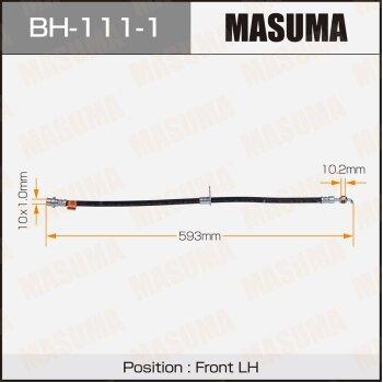 Шланг тормозной MASUMA BH-111-1