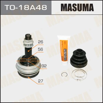 ШРУС MASUMA 27x56x26х48 TO-18A48