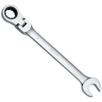 """Ключ комбинированный карданный с храповиком """"""""SATA"""""""" 10мм"""