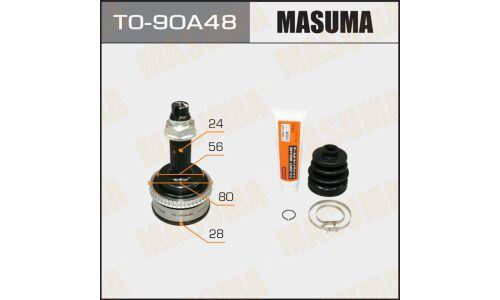 "ШРУС  ""Masuma""  28x56x24х48  (1/6)"