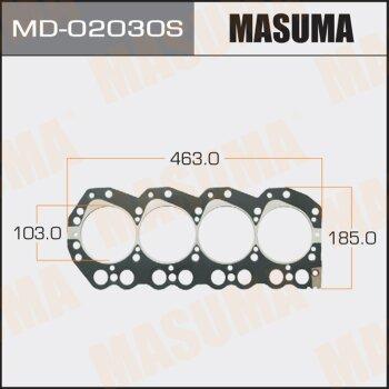 """Прокладка Голов.блока """"Masuma""""  QD32/E, QD32TI"""