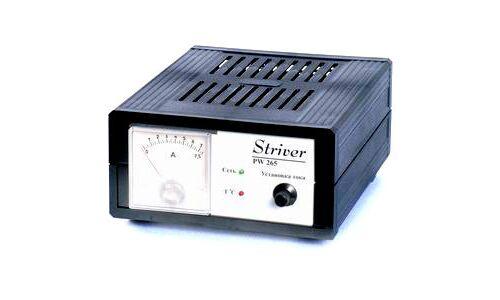 """Автоматическое Заряд.устройство """"Орион"""" PW265 (6А,БП) стрелочный индикатор тока"""