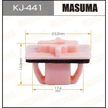 """Покер  пластм.крепежный  """"Masuma""""   441-KJ  (уп.50шт)"""