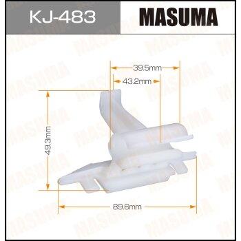 """Покер  пластм.крепежный  """"Masuma""""   483-KJ  (уп.10шт)"""
