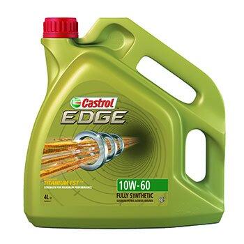 Масло моторное  Castrol EDGE Titanium  10w60  SN/SM/CF  синтетическое, универсальное  4л