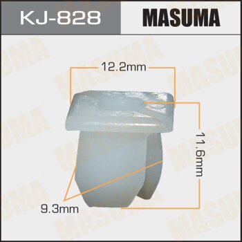 """Покер  пластм.крепежный  """"Masuma""""   828-KJ  (уп.50шт)"""