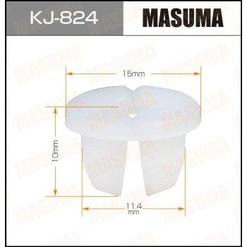 """Покер  пластм.крепежный  """"Masuma""""   824-KJ  (уп.50шт)"""