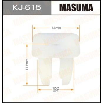 """Покер  пластм.крепежный  """"Masuma""""   615-KJ  (уп.50шт)"""