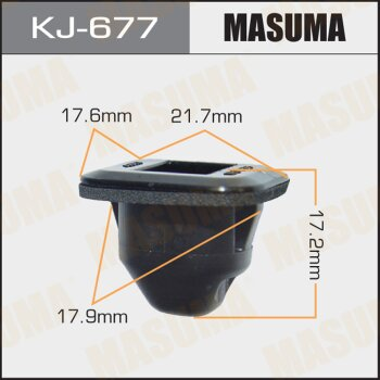 """Покер  пластм.крепежный  """"Masuma""""   677-KJ  (уп.50шт)"""