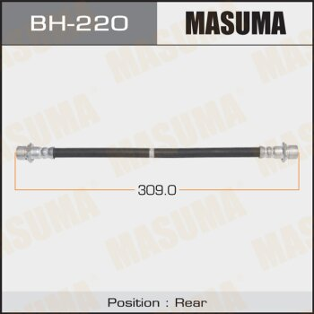 Шланг тормозной MASUMA BH-220