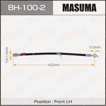 Шланг тормозной MASUMA BH-100-2