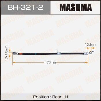 "Шланг тормозной ""Masuma"" T-  /rear/  Camry, Vista SV35, #V43 LH"