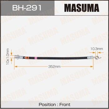 Шланг тормозной MASUMA BH-291