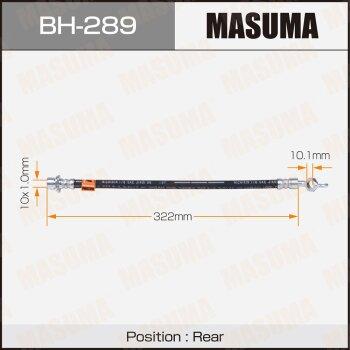 Шланг тормозной MASUMA BH-289