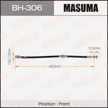 Шланг тормозной MASUMA BH-306