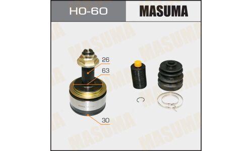 "ШРУС  ""Masuma""  30x63x26  (1/6)"