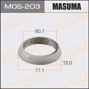 "Упл.кольцо под выхл.коллект. """"MASUMA"""" 60.7x77.1x15"