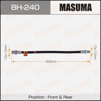 Шланг тормозной MASUMA BH-240