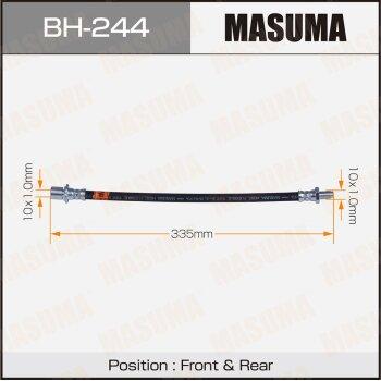 Шланг тормозной MASUMA BH-244