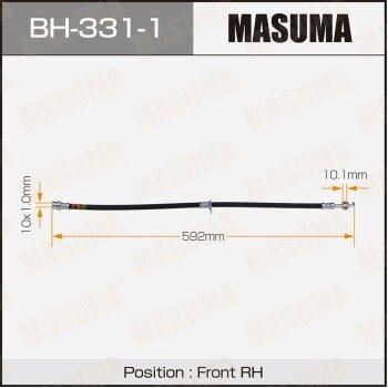 Шланг тормозной MASUMA BH-331-1