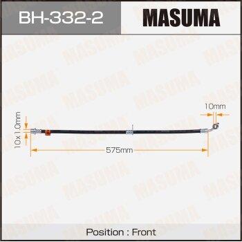 "Шланг тормозной """"Masuma"""" T-  /front/  Rav 4 #CA2# LH"