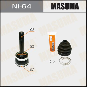 ШРУС MASUMA 27x50x28 NI-64