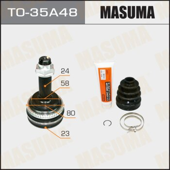 ШРУС MASUMA 23x58x24x48 TO-35A48