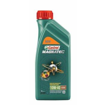 Масло моторное  Castrol Magnatec  10w40  SN/SL/CF полусинтетическое, универсальное  1л