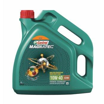 Масло моторное  Castrol Magnatec  10w40  SN/SL/CF полусинтетическое, универсальное  4л