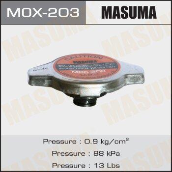 """Крышка радиатора """"Masuma""""  (NGK-P559, TAMA-RC12, FUT.-R125, V9113-0N09)   0.9 kg/cm"""