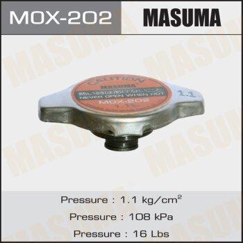"""Крышка радиатора """"Masuma""""  (NGK-P561, TAMA-RC13, FUT.-R126, V9113-0N11)   1.1 kg/cm2"""