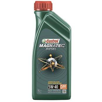 Масло моторное  Castrol Magnatec  Diesel   5w40  CF синтетическое, для дизельного двигателя  1л