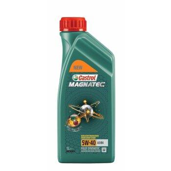 Масло моторное Castrol Magnatec   5w40  SN/CF синтетическое, универсальное 1л