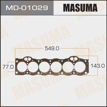 """Прокладка Голов.блока """"Masuma""""  1G-GEU  (1/10)"""