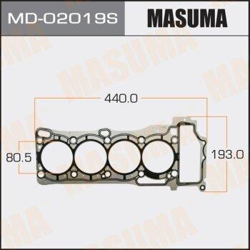 """Прокладка Голов.блока """"Masuma""""  QG18DE  (1/10)"""